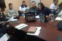 Reunión con delegados de la PDH