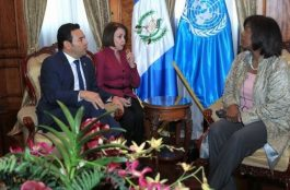 La ONU respalda a Guatemala un 10%